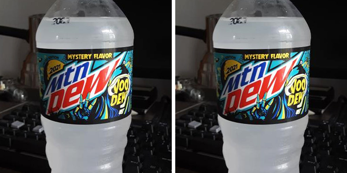 Mountain Dew's 2021 Halloween Soda Has Been Leaked, and It's Another Mystery Flavor