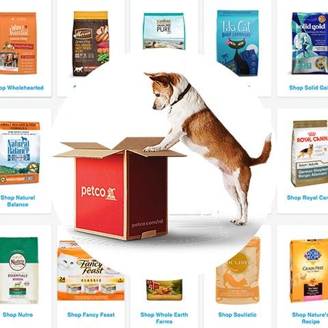 Petco pet food delivery