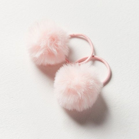 Pink, Fur, Ear, Fashion accessory, Jewellery, Wool, Body jewelry,