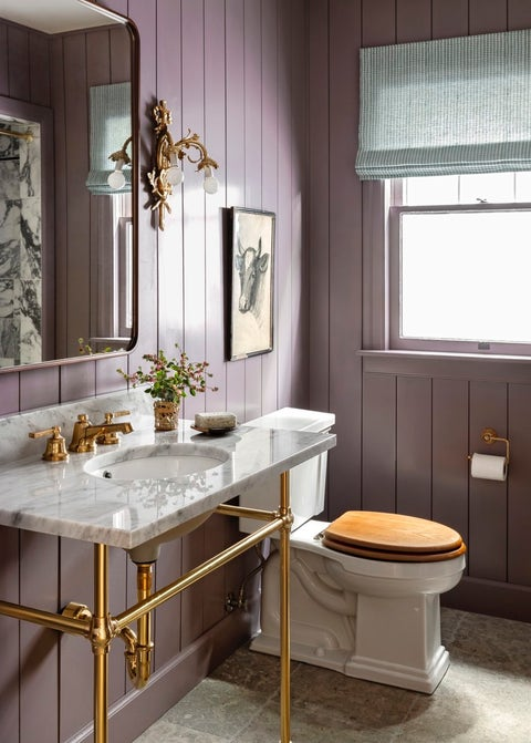 purple bathroom paint colors small rooms