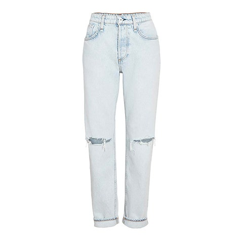rag and bone mid rise boyfriend jeans