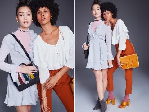 Clothing, Fashion model, White, Fashion, Shoulder, Fashion design, Fun, Footwear, Outerwear, Costume,
