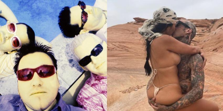 Smash Mouth Just Came for Travis Barker and Kourtney Kardashian on Twitter - Cosmopolitan.com