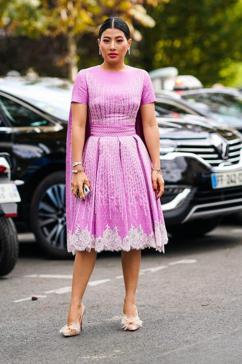 street style  paris fashion week   womenswear spring summer 2020