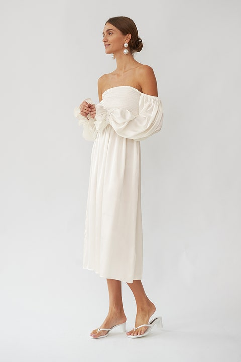 Sleeper wedding dress