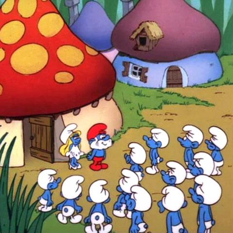 the smurfs cartoon