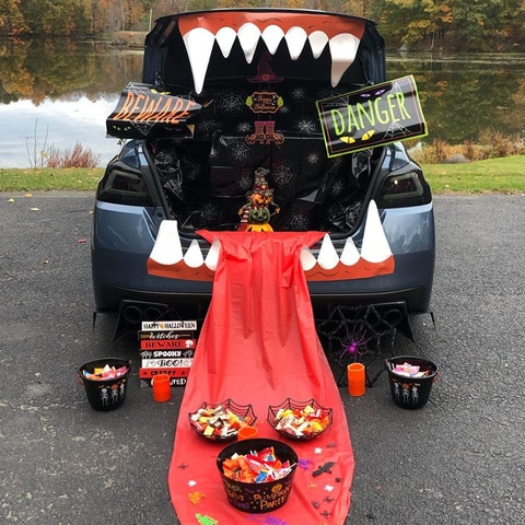 spooky trunk or treat