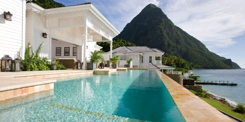 St. Lucia — Caribbean, Sugar Beach, A Viceroy Resort