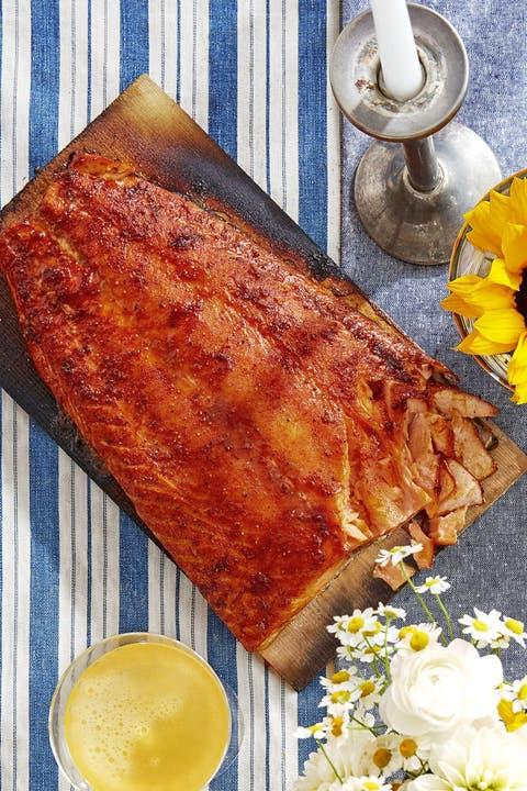 cedar plank salmon healthy christmas recipes