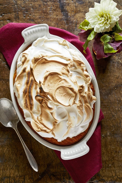 thanksgiving sides dishes sweet potato casserole with homemade marshmallow