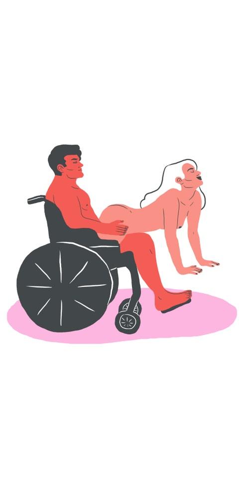 Wheelchair, Cartoon, Sitting, Clip art, Illustration, Riding toy,
