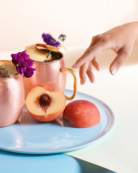 Food, Fruit, Still life photography, Hand, Peach, Plant, Apple, Breakfast, Serveware, Still life,