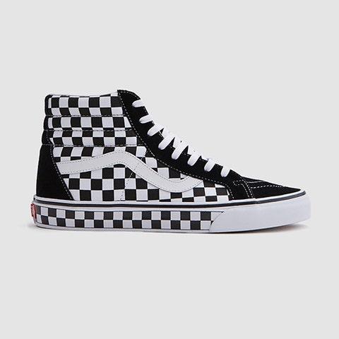 Shoe, Footwear, Sneakers, White, Black, Skate shoe, Plimsoll shoe, Athletic shoe, Pattern, Walking shoe,