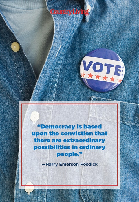 quote about democracy from harry emerson fosdick