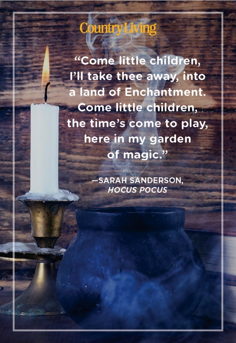 witch spell quote from sarah sanderson in the movie hocus pocus