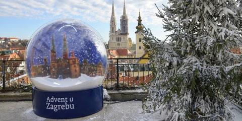 Zagreb, Croatia - Advent in Zagreb