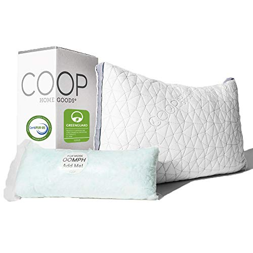 Coop Home Goods - Eden Shredded Memory Foam Pillow