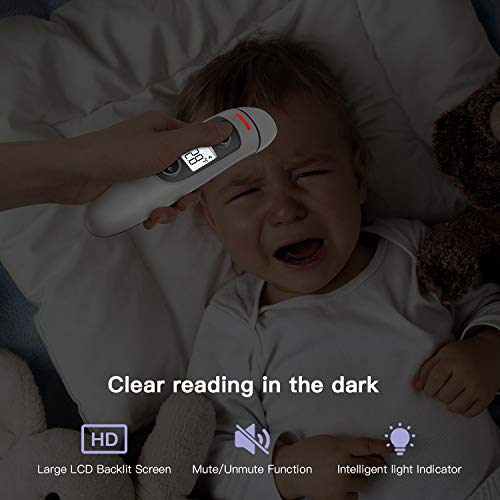Forehead and Ear Thermometer for Fever