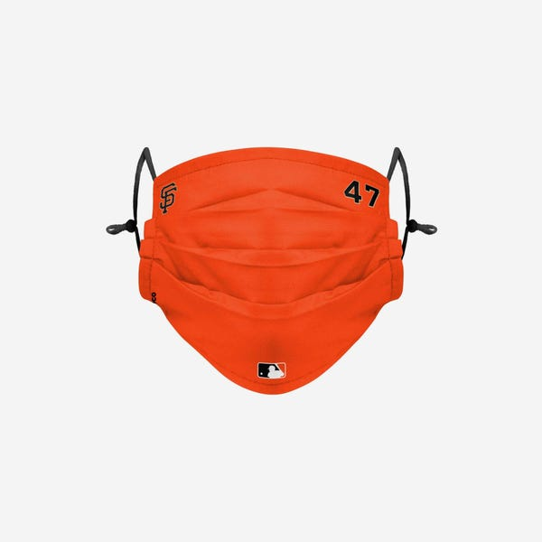 Johnny Cueto San Francisco Giants Gameday Adjustable Face Cover