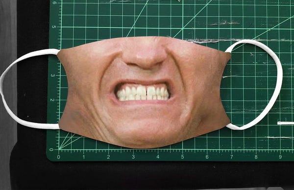 Arnold Total Recall Facemask