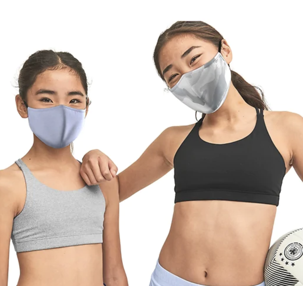 Athleta Girl Made to Move Mask 3 Pack