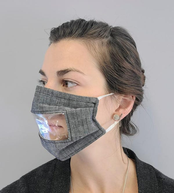Hard of Hearing/Therapy Mask