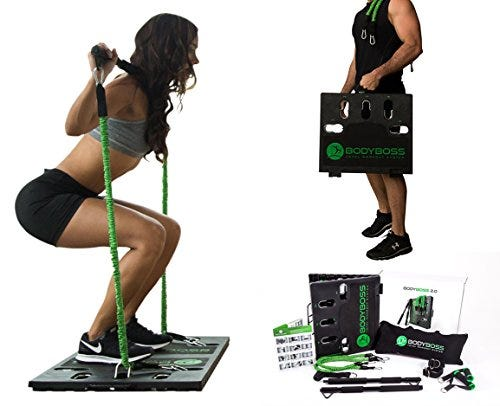 BodyBoss Home Gym 2.0 by 1Loop - Full Portable Gym Workout Package