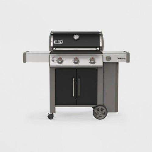 Weber Genesis II E-315 Liquid Propane Grill Black 3 burners
