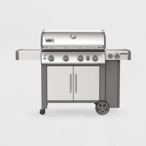 Weber Genesis II S-435 Liquid Propane Grill Stainless Steel 4 burners