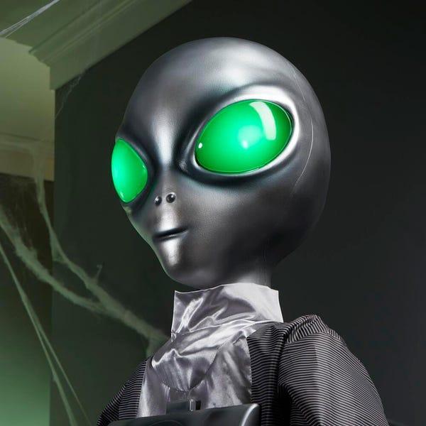 6 ft. Animated LED Alien