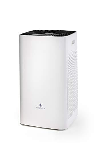 Medify Air MA-112 V2.0 Super CADR 950 H13 True HEPA Air Purifier   Covers 2,400 sq ft - Allergies, Smog, Odors, Smoke, Pets Dander, Dust   Dual Intake with 2 Filters