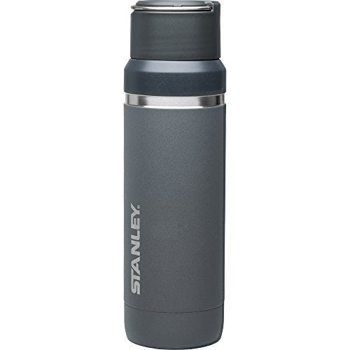 Stanley Go Series with Ceramivac Vacuum Insulated Bottle 36oz for Cold & Hot Beverages, Lightweight Thermos Water Bottle with Leak Proof Cap, Wide Mouth BPA Free Bottle with Carry Loop