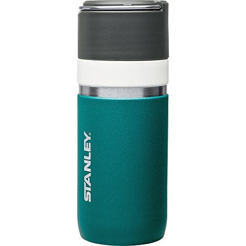 Stanley Go Series Bottle with Ceramivac, Insulated, 16 oz, Hunter