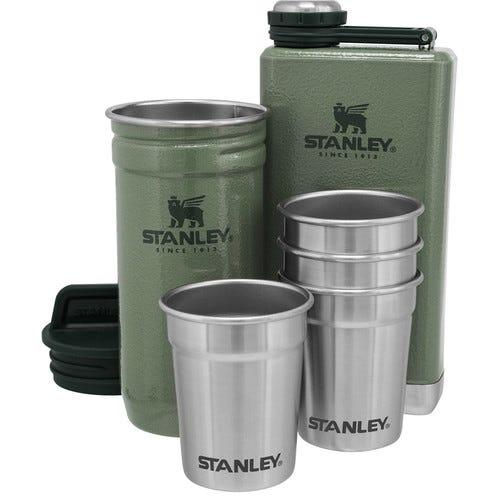 Stanley Adventure Pre-Party Shotglass + Flask Set H.Green