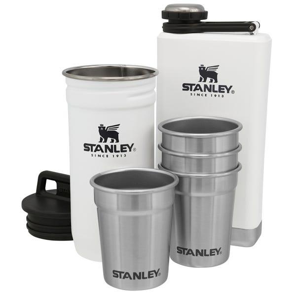 Stanley Adventure Pre-Party Shotglass + Flask Set Polar