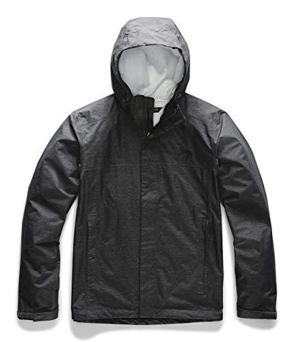 The North Face Men's Venture 2 Waterproof Jacket Tall, TNF Dark Grey Heather, L Tall