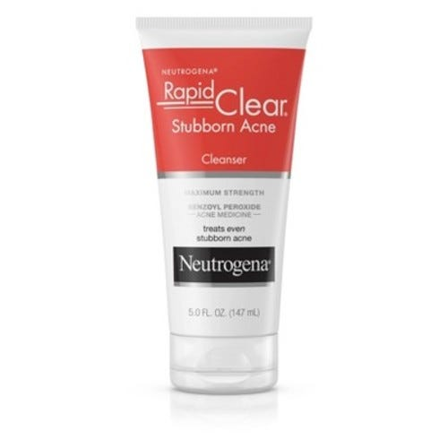 Neutrogena Rapid Clear Stubborn Acne Cleanser - 5 oz