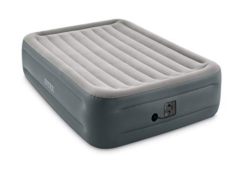 Intex Dura-Beam Series Essential Rest Airbed with Internal Electric Pump