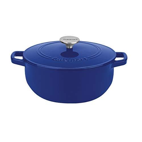Cuisinart Cast Iron, Cobalt, 5.5, Quart Round