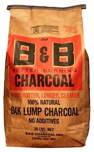 B&B Charcoal Oak Lump Charcoal, Flavor Oak, 20 lbs.