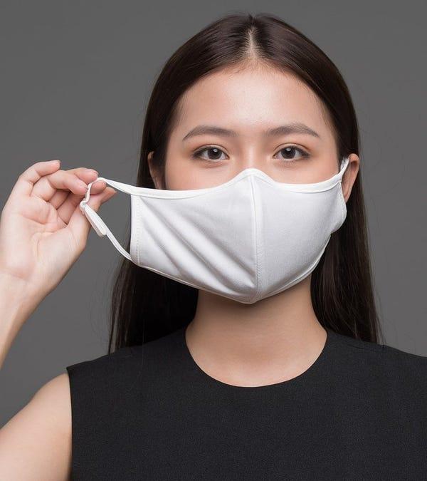 3-Layer Organic Bamboo and Nano-Fibers Fabric Face Masks