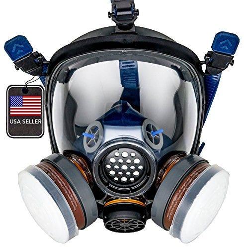 PD-100 Full Face Organic Vapor Respirator & Gas Mask