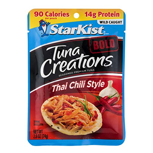 StarKist Tuna Creations BOLD Thai Chili Style- 2.6 oz Pouch (Pack of 24)
