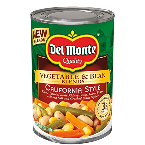 Del Monte Canned Vegetable & Bean Blends, California Style