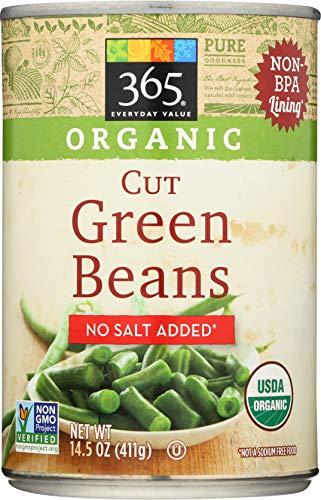 365 Everyday Value, Organic Cut Green Beans, No Salt Added