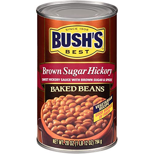 BUSH'S BEST Canned Brown Sugar Hickory Baked Beans