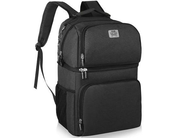 Smiler+ Double Deck Insulated Cooler Backpack