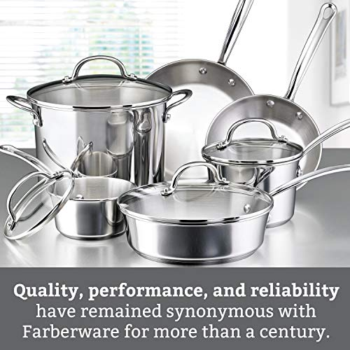 Farberware Millennium Stainless Steel Cookware Pots and Pans