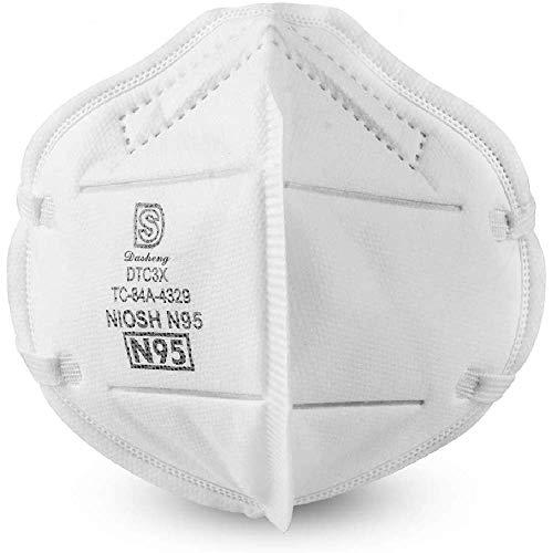 N95 Respirator Mask - Dasheng DTC3X - (Box of 20)