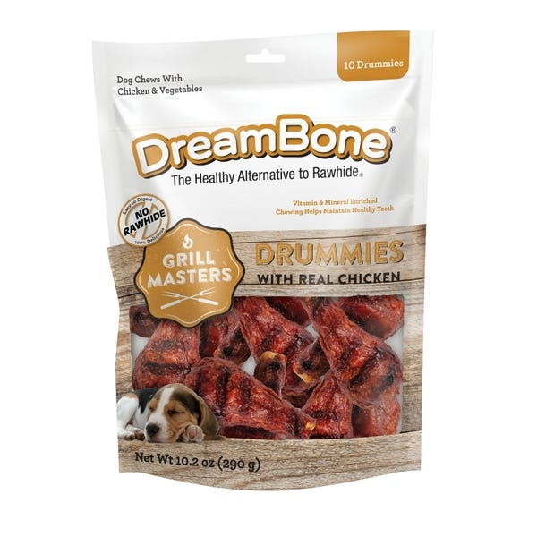 DreamBone Grill Masters Drummies With Real Chicken
